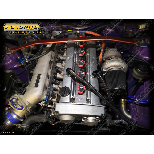Nissan Skyline R33 GTST Series 1 - Audi R8 Ignition Kit [Option: WITHOUT Ignition Coils]