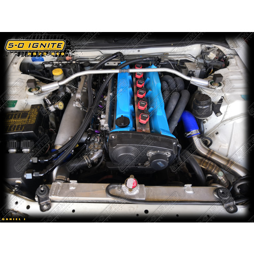 Nissan Skyline R34 GTT (NEO) - Audi R8 Ignition Kit [Option: WITHOUT Ignition Coils]